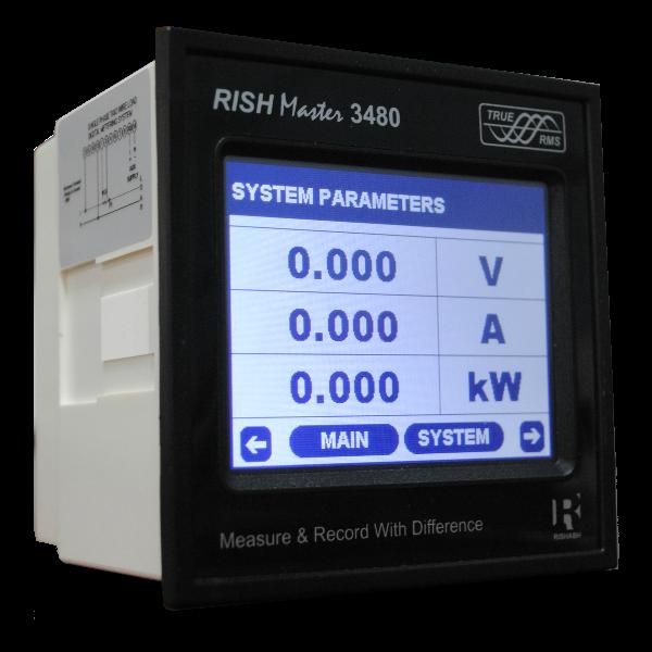 Digital Panel Meter : Rishabh instruments westek electronics